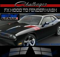 Dodge Challenger Factory Style Fender Hash Stripe Kit Quality Stripes 08-14