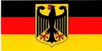GERMAN EAGLE GERMANY FLAG BUMPER STICKER VINYL DECAL patriotic heritage pride