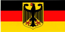 GERMAN EAGLE GERMANY FLAG BUMPER STICKER VINYL DECAL patriotic heritage pride