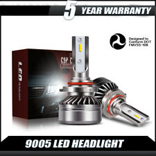9005 9145 HID LED Fog Light Conversion Kit Upgrade 6000K Xenon White 12000LM DH