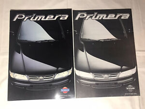 Prospekt Reklame Werbung Nissan Primera Auto Alt Geschenk Broschüre Heft Rarität