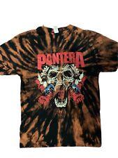 Pantera Band T-Shirt Rock Punk pop Alternative Metal Unisex Skull Tie Dye