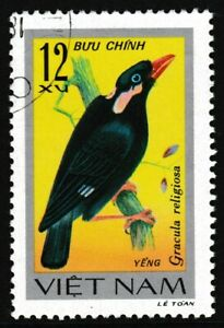 1978 Vietnam 'Songbird' Stamp - Used / CTO