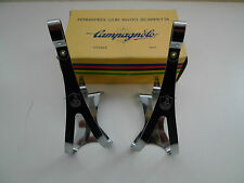 Vintage NOS Classic Campagnolo Nuovo Record  Steel Toe Clips Large 4 Colnago