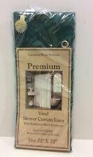 "Carnation Home Fashions 12 Gauge Vinyl Hotel Liner 72"" x 72"" Evergreen"