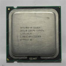 Intel Core 2 Extreme QX9650 QX6850 QX6700 775 Unlock CPU for Overclockers,Gamers
