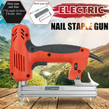 2000w Electric Staple Nail Nailer Stapler Gun Heavy-duty Woodworking Tool Q