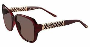 Chopard Women Sunglasses SCH184S 0954 58 Red / Brown Shaded 58/16/13
