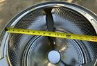 Stainless Steel Basket Washing Machine Inner Tub Maytag Whirlpool Front Load  photo