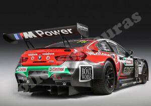 BMW M6 GT3 12 Hr race car print A4 size HD print