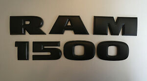 2009-2018 Ram 1500 Door Emblem, Black
