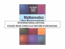 Mathematics For Economists 1St Edition by Carl P. Somon