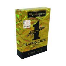 Waddingtons Gold Playing Cards For Boys Girls Adults Christmas Birthday Gift