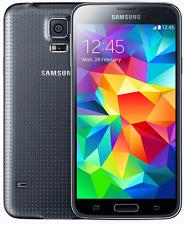 SAMSUNG GALAXY S5 SM-G900F 16GB HANDY -- SCHWARZ -- CHARCOAL BLACK  --OVP -- NEU