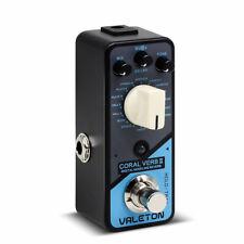 Valeton Coral Verb II Digital Reverb Multi Guitar Effects Pedal CRL-9