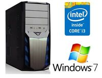 Neu Computer Komplett PC Intel i3 2120 3,30GHz 6GB DDR3 1TB Windows 7