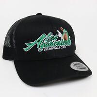 4a67b8bd10a Gorra Aguacateros Mexico Snap Back Trucker Hat Visera Clasica Black  Adjustable