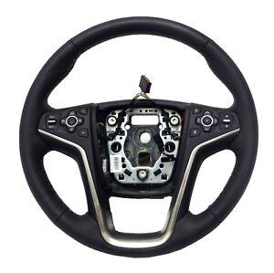 23148954 Steering Wheel Jet Black Leather Collision 2014-2016 Buick LaCrosse