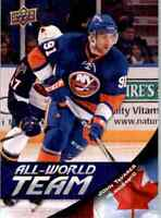 2011-12 Upper Deck All World Team John Tavares #AW14