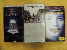 3 Best Picture Winners VHS movies: Saving Private Ryan, Close Encounters..., Sil