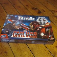 Risk Captain America Civil War Edition Strategy Board Game NEW SEALED