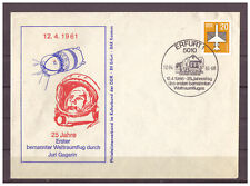 DDR, SoU 25 Jahre Erster bemannter Weltraumflug - Juri Gagarin SSt Erfurt 1986