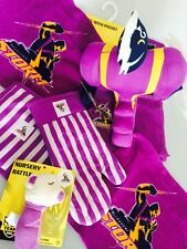 NRL Melbourne Storm Oven Mitt Face washer Supporter Mascot Teddy Christmas Pack
