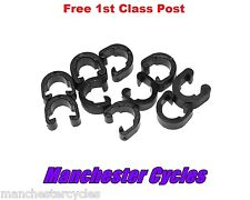 Pack of 10 C-Clips for Road & Mountain Bike Gear or Brake Cable Frame guide clip