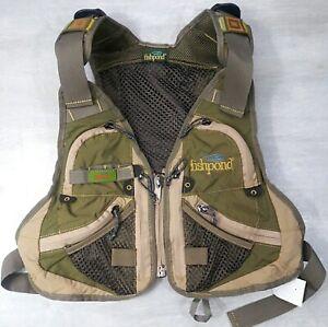 Fishpond Flint Hills Youth Fly Fishing Vest Adjustable Waist and Shoulder Straps