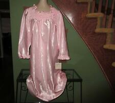 Vtg Comfy Satin Cuddleskin Nylon Nightgown Gown Lingerie NWT NEW PJ's Small