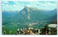 Canadian Rockies Banff Cablecar Lift Picnic Cliff House Mt. Norquay Canada B26
