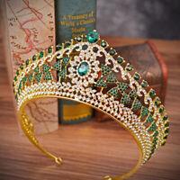 Rhinestone Crystal Hair Tiara Wedding Crown Headband Bridal Bride'