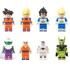 Dragon Ball Z Figmes Action Mini Figure BANDAI Completed Set of 10 LEGO OOP HTF