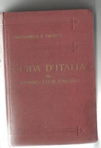 guida d'Italia del Touring club italiano possedimenti e colonie 1929