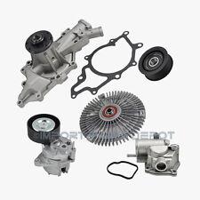 Sprinter Belt Tensioner Water Pump Fan Clutch Thermostat Idler Pulley Kit (5pcs)