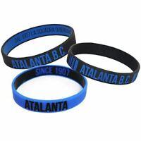 3 Braccialetti Atalanta B.C. ATA2153 ufficiali tris in silicone originali