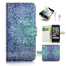 ( For iPhone 5 / 5S / SE ) Wallet Case Cover! P1337 Aztec Pattern
