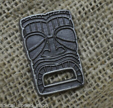 USA CAST METAL TIKI PIN RETRO OLD VTG STYLE HAT TIE BAR FEZ MASK UP HAWAIIAN