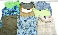 Basic Editions Women's Plus Size 2XL Various Styles T-Shirts & Blouses Lot of 9