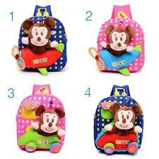 Precioso Mickey Mouse Guardería Carteras Mochila para niños de 1-5 años de edad