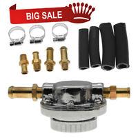 Universal Metal Adjustable Fuel Pressure Regulator Kit for Carburetor Engine HOT