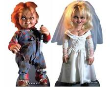 Chucky and Tiffany Bride of Chucky Official Lifesize Cardboard Cutout Set of 2