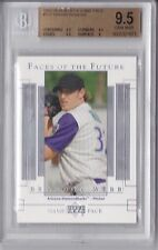 2003 Upper Deck Game Face Brandon Webb Rookie Graded BGS 9.5