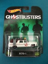2016 Hot Wheels Retro Entertainment Diecast Vehicle Ghostbusters ECTO-1. NIP!!!