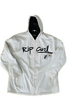 Rip Curl Men's Soft Shell Zip Up jacket With Hood Size Large