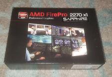 Sapphire AMD FirePro 2270 512MB DDR3 Dual DVI-I PCI-Express X1 Graphics Card