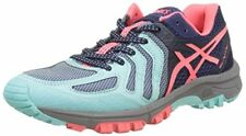 Asics gel Fujiattack 5 mujeres negro zapatillas deportivas Trail Running correr 37 5