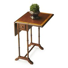 Butler Darrow Olive Ash Burl Drop-Leaf Table, Olive Ash Burl - 2334101