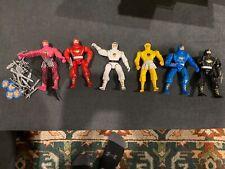 Mighty Morphin Power Rangers Movie Ninja Ranger Lot of 6 Bandai 1995 MMPR 100%