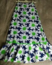 Vintage 1970's Long Skirt Size 14
